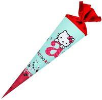 Hello Kitty Schultüte / Zuckertüte 70cm rund ABC z. Einschulung / Schulanfang