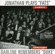 Jonathan Edwards, Jo - Jonathan Plays Fats Darlene Remembers Duke [New CD]