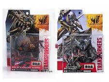 Transformers Takara Extinction Dinobot Deluxe Black Knight Strafe+Scorn