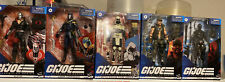 G I Joe Classified Lot Of On 5. Destro, Storm Shadow, Cobra Commander,Snake Eye