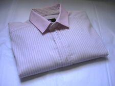 D&G DOLCE & GABBANA  MENS BUTTON DOWN FITTED DRESS SHIRT SIZE EU 46