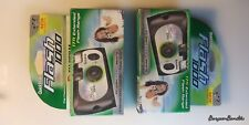 Fujifilm Disposable Cameras 2-Pack Flash 1000 Quicksnap Speed Film 17Ft. Range