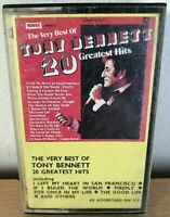 The Very Best Of Tony Bennett Greatest Hits Cassette Music Collectable Cassette