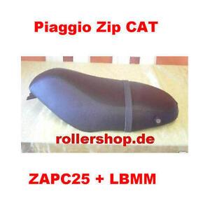 Sitzbank-Bezug für Piaggio ZIP CAT, ZIP II, ZAPM25, ZAPC25, Handgenäht in DE