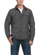32 Degrees Men's Down Ultra-light Shirt Jacket Cloud Cover Melange, Size S, NWT