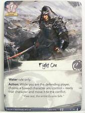 Legend of the Five Rings LCG - 1x #072 Fight On - The Ebb and Flow