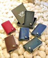 Portafoglio Uomo Donna Slim Rfid Porta Carte Documenti Banconote Patente VipStar