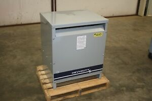 New Hevi-Duty 112 KVA Transformer 480D 240D/120 Step up or Down #4350