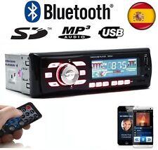 RADIO PARA COCHE CON BLUETOOTH MICRO-SD/USB/AUX FM MP3 50X4 MANDO A DISTANCIAS