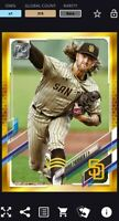 Topps BUNT Chris Paddack GOLD PHYSICAL SERIES 2021 [DIGITAL CARD]