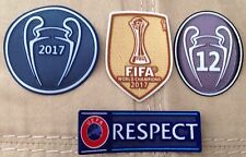 2017-18 UEFA Champions League patch kit- Real Madrid FC jerseys