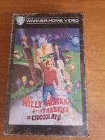 Willy Wonka and the chocolate factory  bluray retro Vhs edition