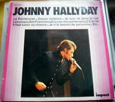 33 tour JOHNNY HALLYDAY 6886 104 impact vol 1 label jaune 10 photos au verso