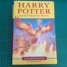 Genuine Harry Potter and the Order of the Phoenix 1st Edition Hardback Book