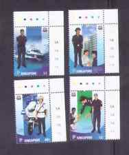 Singapore 2003 ,Singapore Police Force with Margin/Colour Code