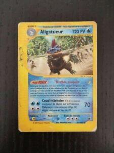 Aligatueur 47/165 Rare Expédition Wizzard Français - Carte Pokémon