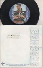"""GEORGE MICHAEL  Rare 1987 Aust Promo Only 2x7"""" OOP Tour Souvenir G/F P/C Singles"""