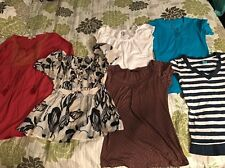 Womens Clothing Lot 3 Size  Medium 6 Tops Shirts H & M Target Ya LA