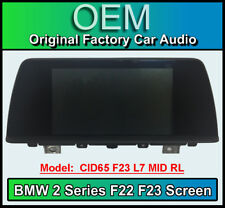 BMW 2 Series display screen, BMW F23 F22, CID65 L7 MID RL , LCI Multi function