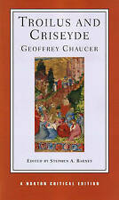 Troilus and Criseyde (Norton Critical Editions), Good Condition Book, Chaucer, G