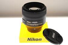 Nikon AF-S Nikkor 85mm f/1.8 G Obiettivo con messa a fuoco automatica. - Nuovo di zecca Condizione.