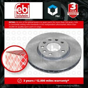 2x Brake Discs Pair Vented fits CHEVROLET CORSA 1.7D Front 00 to 02 2H7 280mm