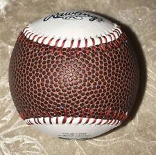 Custom Baseball With Football Panel