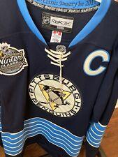 Men's Reebok Center Ice Pittsburgh Penguins Winter Classic Crosby Jersey 52