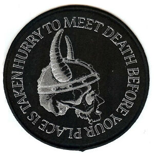 Hurry To Meet Death Viking Norse 13th Warrior Thor Odin Valhalla Valkyrie