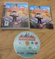 Monopoly Sony PlayStation 3 PS3 Game Complete with Manual - Free P&P