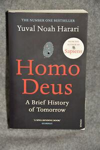 Homo Deus by Yuval Noah Harari, english