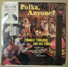 "FRANKIE YANKOVIC -POLKA, ANYONE? Columbia CL 2524 10"" lp"