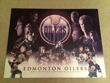 Oilers Ryan Smyth 2006 Western Conference Poster Save on Foods Litho Poster