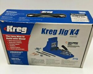 Kreg Jig K4H Pocket Hole Tool K4H  Pack Clamp Screws Kreg Jig K4