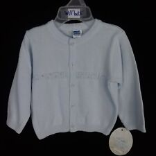 NEW WILL'BETH LIGHT BLUE CARDIGAN SWEATER BABY INFANT NWT
