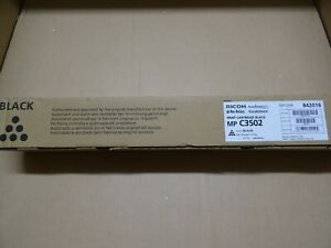 Ricoh 842016 Toner Noir 841651 841739 mp c3502  ORIGINAL