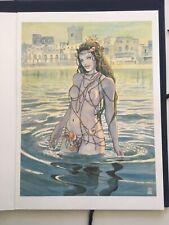 MILO MANARA Pittore e illustratore cartella con 6 tavole 2006