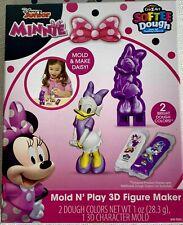 Daisy Duck Mold N Play 3D Figure Maker Cra-Z-Art Softee Dough Kids Play Doh