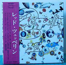 Led Zeppelin - Japanese Mini LP Style Sleeve CD's in Rare Led Zep III Promo Box