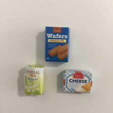Sylvanian Families Calico Critters Supermarket Replacement Cheese Tea Wafers Box