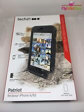 Tech21 Patriot Durable 360 Degree Impact Resistant Case Cover for iPhone 6 / 6s