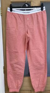 Women's Calvin Klein Sleepwear Lounge Pants Pjs  Bottoms Size Medium