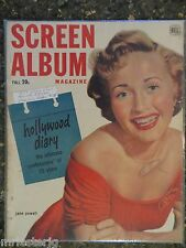 Screen Album Magazine Fall 1952 Jane Powell  VINTAGE ADS Marilyn Monroe T Curtis