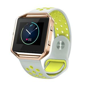 SWEES Silicone Bands Compatible Fitbit Blaze Multiple Colors And Sizes