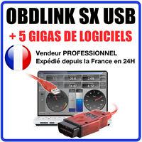 Obdlink sx 425801 scantool usb: professional obd-ii scan tool for windows