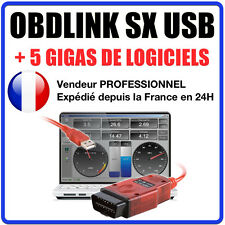 Obdlink sx 425801 scantool usb: professional obd-ii scan tool for windows