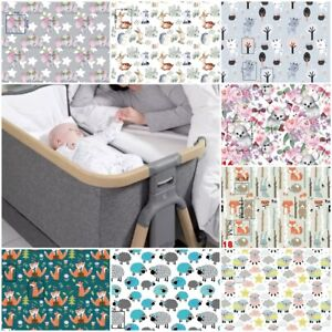 2x  FITTED SHEETS compatible with TUTTI BAMBINI crib bed cover ANIMALS FARM
