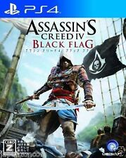 Used PS4 Assassin's Creed 4 Black  SONY PLAYSTATION 4  JAPANESE JAPONAIS IMPORT