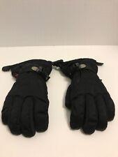 Head Kids Ski Gloves Black Outlast Child Winter Snowboard Size Medium