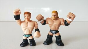 WWE Wrestling Set of 2 Sheamus & Triple H Rumblers Mini Figures (New No Tags)